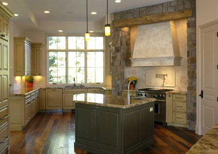 Kitchen Cabinets, Granite Counter tops, and Hardwood floors