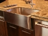Granite Counter Top Surrounding a Sink