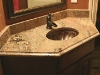 Granite Counter top bathroom sink