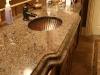 Granite Counter top bathroom sink
