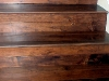 Hardwood Flooring Stairs Closeup